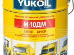 Масло М10ДМ yukoil (17,5кг) летнее, ведро 20л