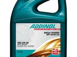 Масло моторное Addinol 5W-30 Mega Power C2 синтетическое 5л