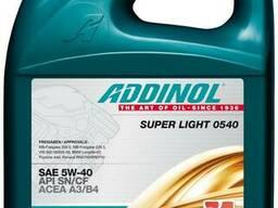 Масло моторное Addinol 5W-40 Super Light синтетическое 5л