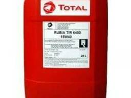 Масло моторное TOTAL RUBIA TIR 6400 15w40 20л API CH-4 /SJ