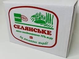 Масло натуральное ТМ ПАОЛО, АНЮТА 73%