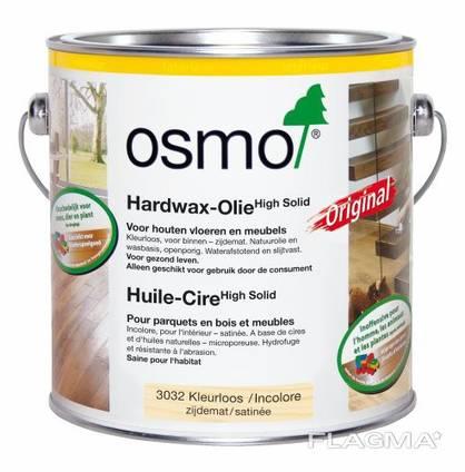 Масло Osmo с твёрдым воском 2,5 или 3 литра