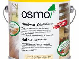 Масло Osmo с твёрдым воском 2, 5 или 3 литра
