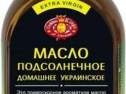 Масло подсолнечное не рафинированное