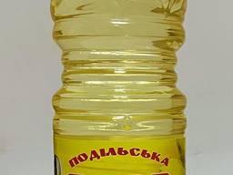 """Масло подсолнечное рафинированное дезодорированное 1л. , 4. 3л. , 10л. """"Подольская"""""""