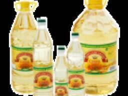 Масло подсолнечное рафинированное дезодорированное