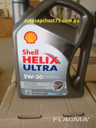 Масло Shell Helix Ultra ECT 5w-30, синтетика, 4 литра