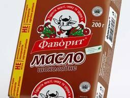 """Масло шоколадное """"Фаворит"""" 62% (200 г) экспорт"""