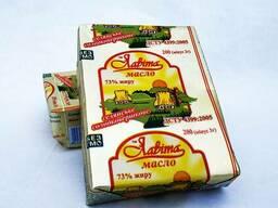 Масло сладко-сливочное крестьянское 73% жира
