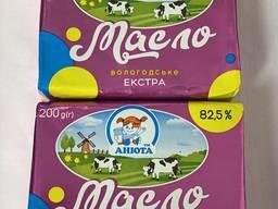 Масло солодковершковое 82,5% ЭКСТРА ТМ АНЮТА