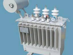 Масляные трансформаторы мощностью то 25 до 63 кВА.