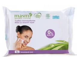 Masmi Органические влажные салфетки для удаления макияжа, 20шт 8432984001070