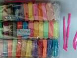 Масса для лепки супер легкая в наборе 36цветов + 3 стека - фото 1