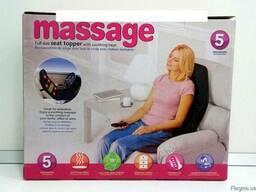 Массажная накидка с подогревом Massage seat topper JB - 100C