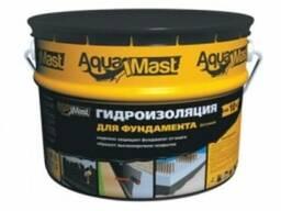 Мастика битумная AquaMast фундамент (10кг)