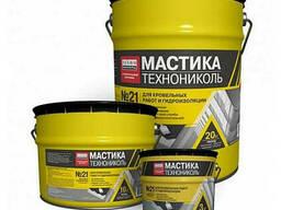 "Мастика битумно-полимерная ТехноНиколь №21 ""Техномаст"" ; 20"