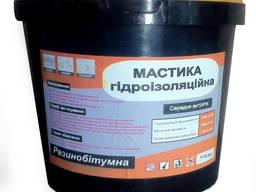Мастика битумно-резиновая гидроизоляционная