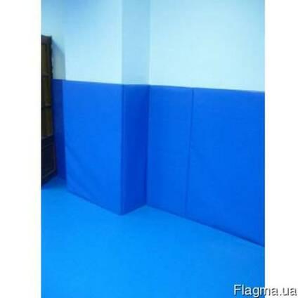Мат гимнастический, стеновые протекторы, борцовская покрышка