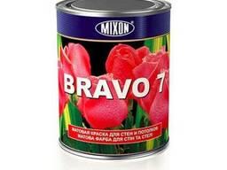 Матовая акриловая краска для стен Mixon Bravo-7. 1 л