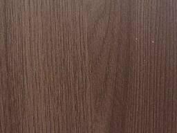 Матовая пленка ПВХ Дуб шимо темный для МДФ фасадов.