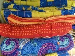 Матрас спальный, ватный, поликотон, тик, размер 190*80