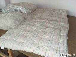 Матрас ватный размер 190\90 см, ткань