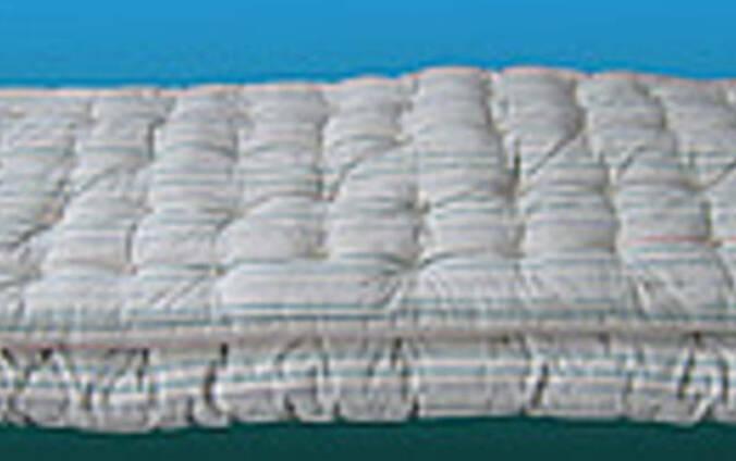 Матрас ватный ткань тик 90х190