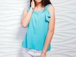 Майка блуза женская модная 42-50 р, доставка по Украине