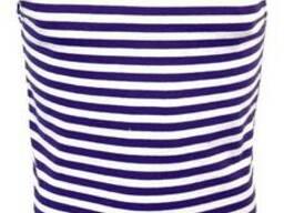 Майка-тельняшка фиолетовая