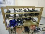 Майнинг ферма на 6 видеокарт PNY GTX1060 Twin Fan 6GB -Hynix - фото 2