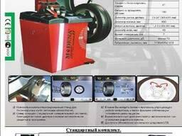 МB 820. Балансировочный станок c автомат для легковых колес 6