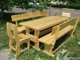 """Мебель деревянная натурального цвета в стиле """"эко"""" - последн"""