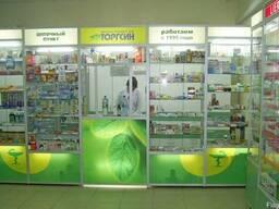 Мебель для Аптек (витрины, стеллажи, прилавки) на заказ