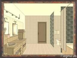 Мебель для душевой, ванной и туалетной комнаты.