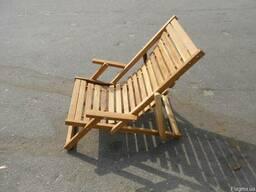 Мебель из дерева для дачи, пляжа, санатория