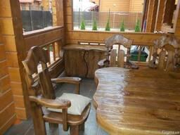 Мебель из дерева для саун и бань ( деревянные столы лавки)