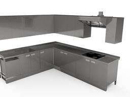 Мебель из нержавейки для частного дома и летней кухни