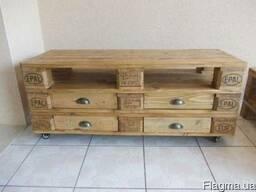 Мебель из поддонов паллет и ящиков