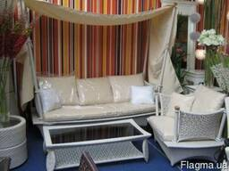 Мебель из техноротанга.