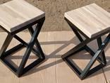 Мебель Loft из профтрубы, в сочетании с деревом, МДФ, фанерой, акрилом или поликарбонатом - фото 4