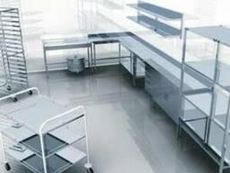Мебель из нержавейки ( стелажи , столы , ванны моечные )