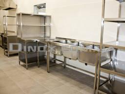 Мебель нержавеющая для dark kitchen, дарк китчен, темной кухни