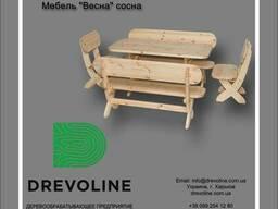 """Мебель """"Весна"""" из сосны 1, 5м"""