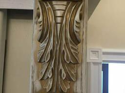 Мебельный декор из дерева. Деревянный мебельный декор