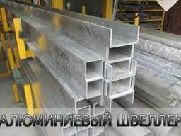 Алюминиевый швеллер 60х40х2, 5 мм. (профиль п-образный). ..