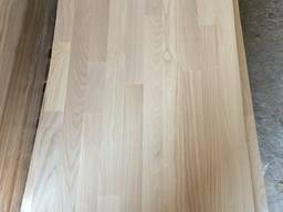 Мебельный щит из ясеня, срощенный толщиной х20