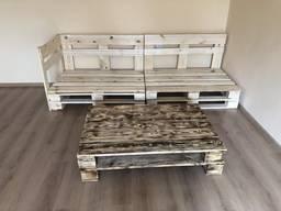 Меблі з піддонів(палет)