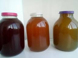 Мед натуральний з Прикарпаття лісовий з різнотрав'я