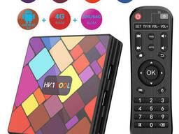 Медиаплеер приставка Android TV Box HK1 COOL Color 4GB/32GB (13951)