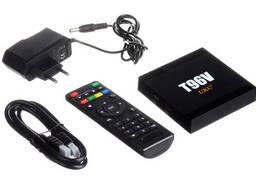 Медиаплеер приставка Android TV Box Smart TV T96V. ..